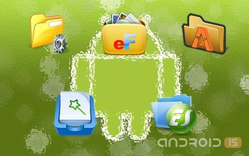 Android файловый менеджер