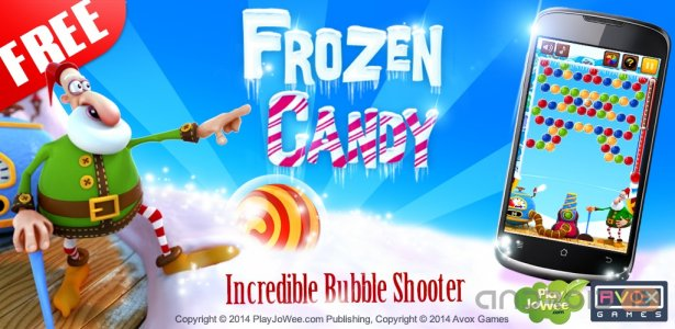 Frozen Candy Bubble Shooter