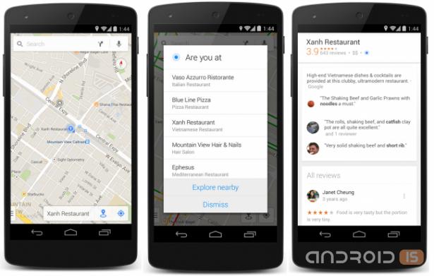 Карты Google Maps получат новую функцию Explore Nearby